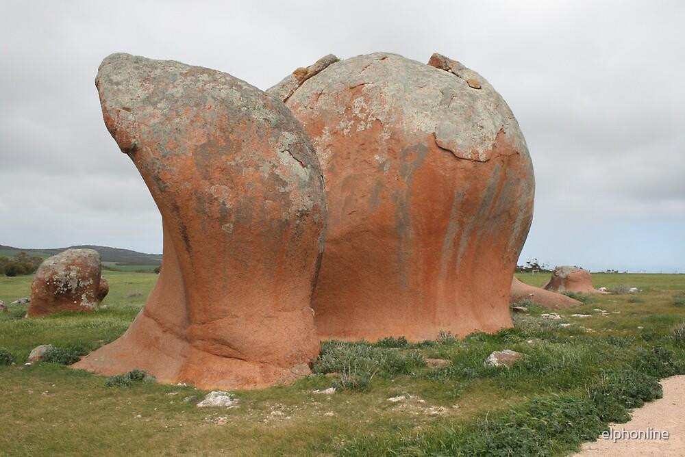Murphy's Haystacks 1 , South Australia. by elphonline