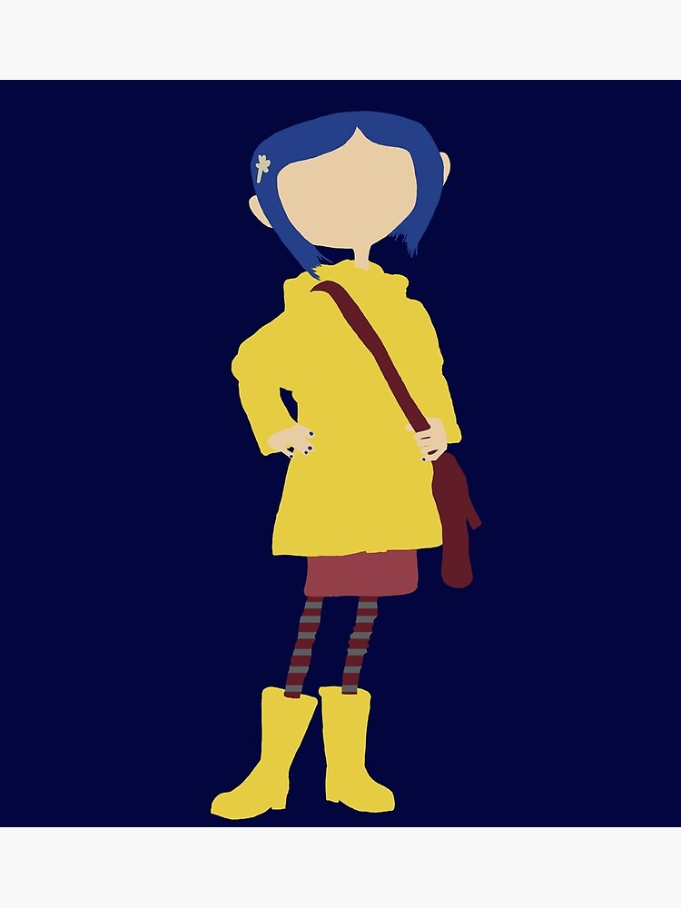 Coraline Greeting Card By Livjj Redbubble