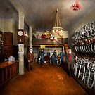 Bike - Store - Haverford Cycles 1919 by Michael Savad