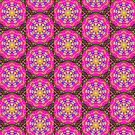 Wow Magenta Doily by shopismo