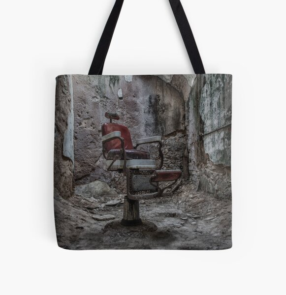 Demon Barber's Chair All Over Print Tote Bag