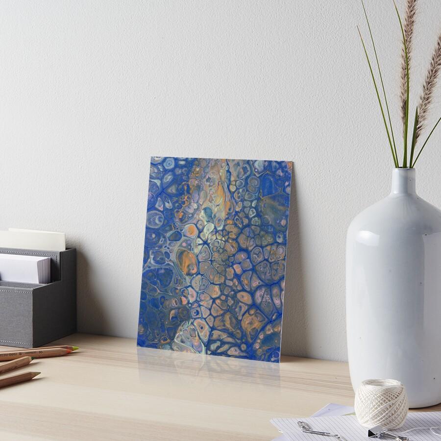 Octopus Abstraction Art Board Print