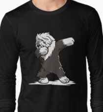 T-Shirts Clothing, Shoes & Accessories I Love Heart Old English Sheepdogs V-Neck T-Shirt