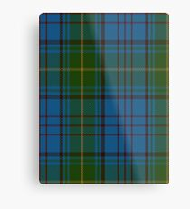 00321 Donegal County Tartan Metal Print