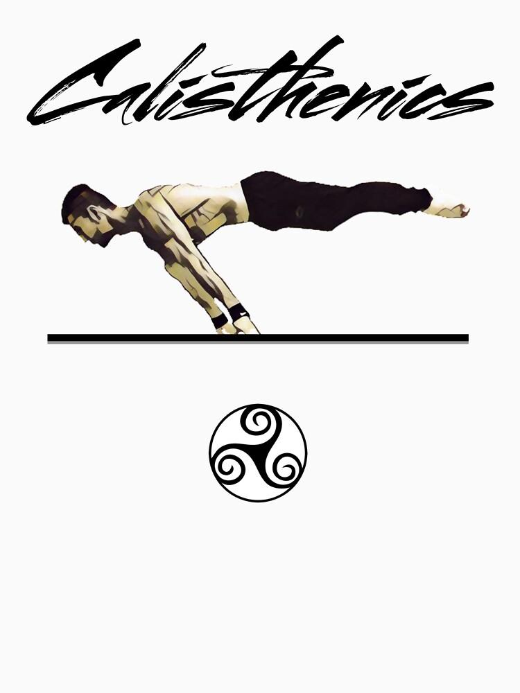 Calisthenics skills and movements Design T-shirt by Stefanoprince84