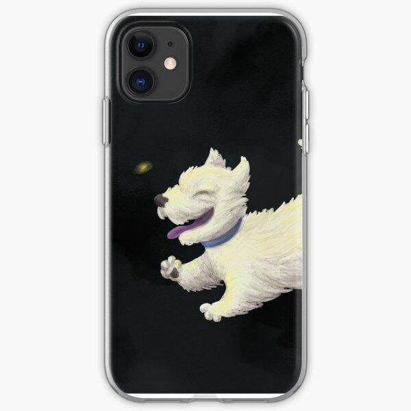 Summer Dog: West Highland White iPhone Soft Case