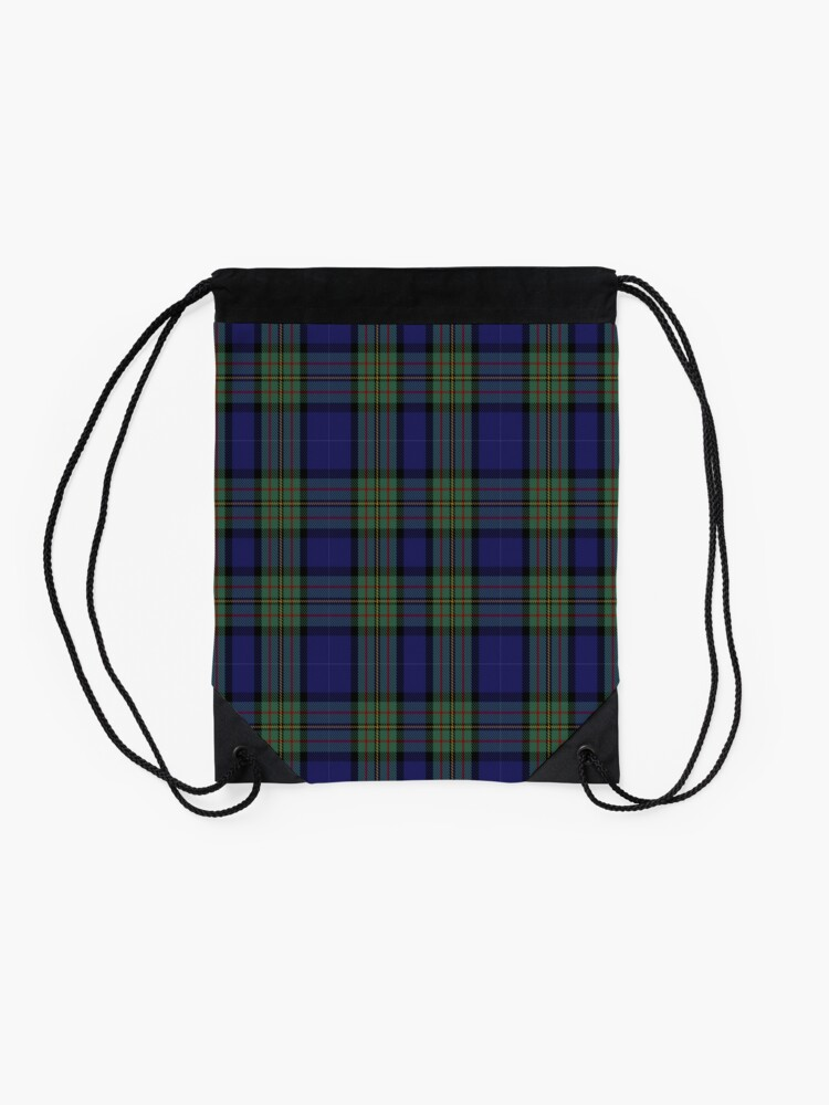 Alternate view of 00310 MacLaren Tartan  Drawstring Bag