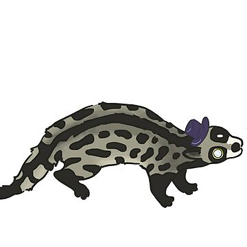 Civilized Civet by leslieawicke