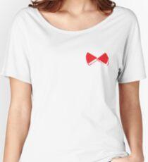 Red pop papillon Women's Relaxed Fit T-Shirt