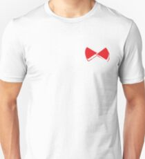Red pop papillon Unisex T-Shirt