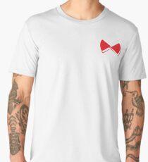 Red pop papillon Men's Premium T-Shirt