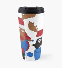 The man from uncle series Travel Mug