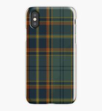 00299 Antrim County District Tartan  iPhone Case