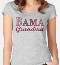 Bama Grandma Retro Women's Fitted Scoop T-Shirt