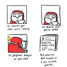 Scientific Santa  by twisteddoodles