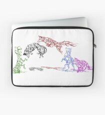 The Pounce (leaping foxes in the snow) Laptop Sleeve