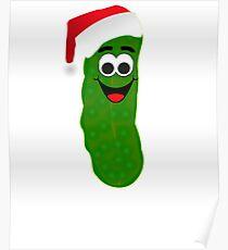 Christmas Pickle St Nick Poster