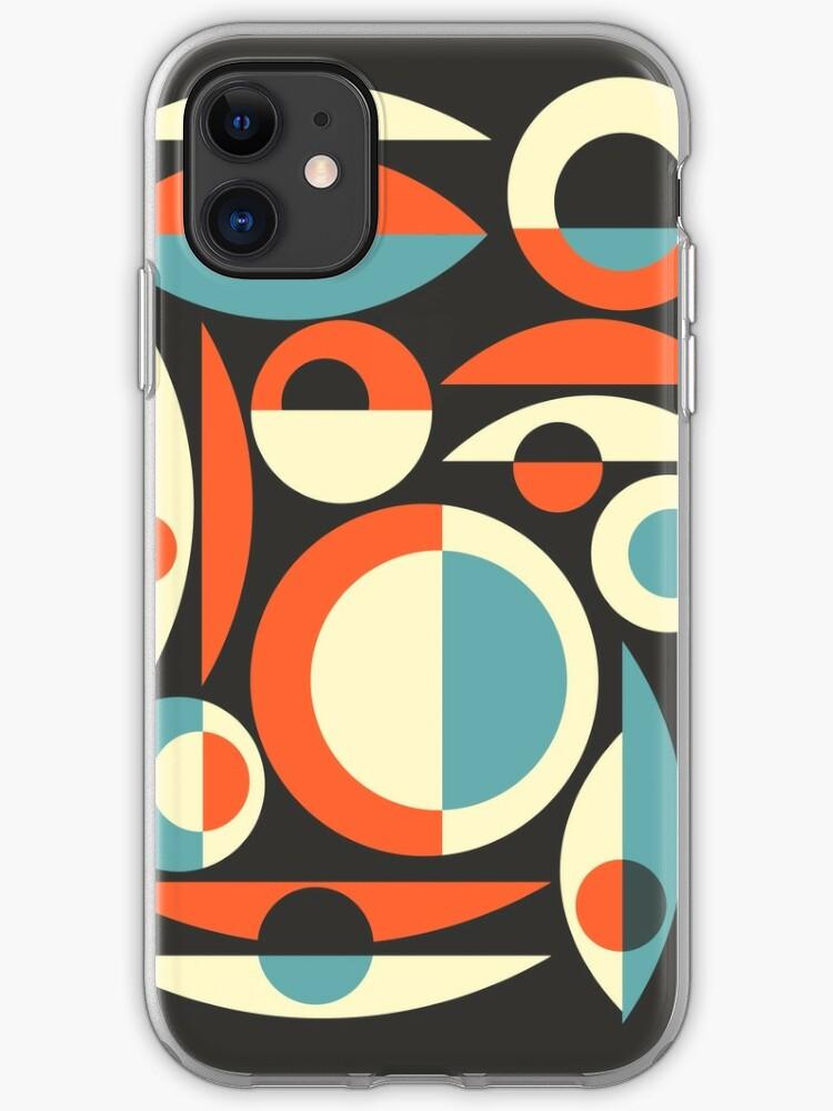 Eames Era Starbursts and Globes 3 (bkgrnd) iPhone 11 case