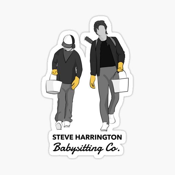 Steve Harrington Babysitting Co. Sticker