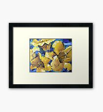 Mimi's Yellow Flowers Framed Print
