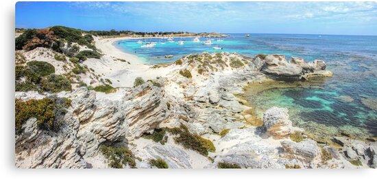 Quot Longreach Bay Rottnest Island Perth Wa Quot Metal Prints By