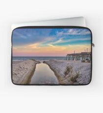 Surfside Beach Sunset Laptop Sleeve