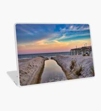 Surfside Beach Sunset Laptop Skin