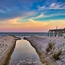 Surfside Beach Sunset by TJ Baccari Photography