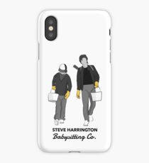 Steve Harrington Babysitting Co. iPhone Case/Skin