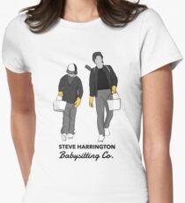 Steve Harrington Babysitting Co. Women's Fitted T-Shirt