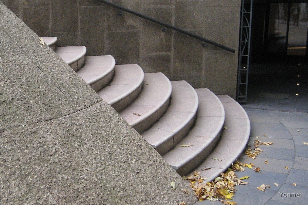 Round Stairs by Yonmei