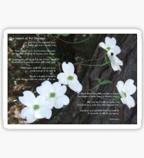 The legend of the dogwood Sticker