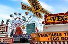 Ferris Wheels & Fried Dough - Fryeburg Fair by T.J. Martin
