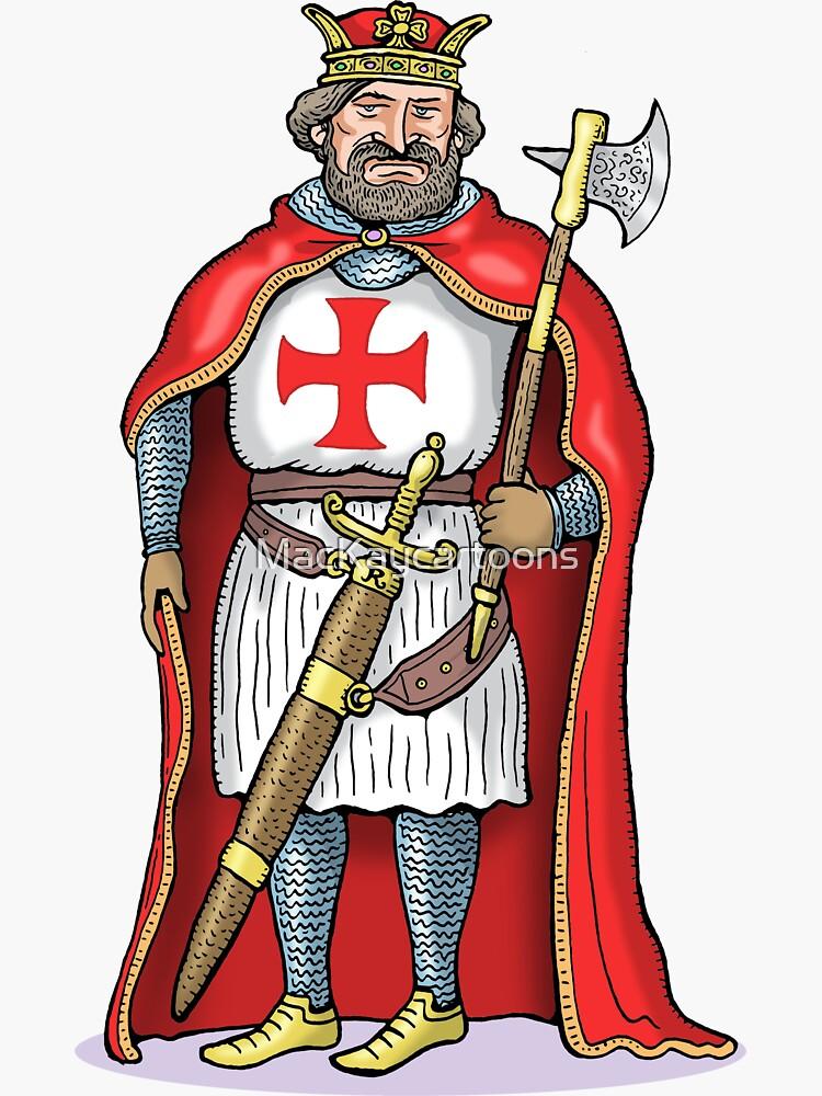 King Richard I by MacKaycartoons