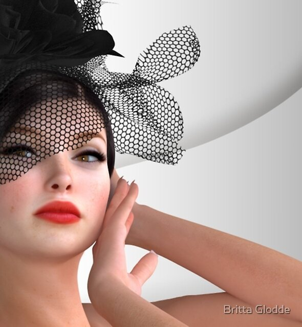 Vogue - fashion model by Britta Glodde