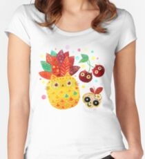 Mexican Tutti Frutti Women's Fitted Scoop T-Shirt
