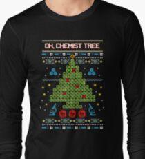 Oh Chemist Tree Ugly Christmas Sweatshirt Long Sleeve T-Shirt