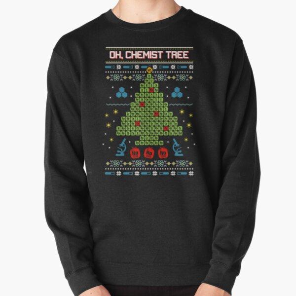 Oh Chemist Tree Ugly Christmas Sweatshirt Sudadera sin capucha