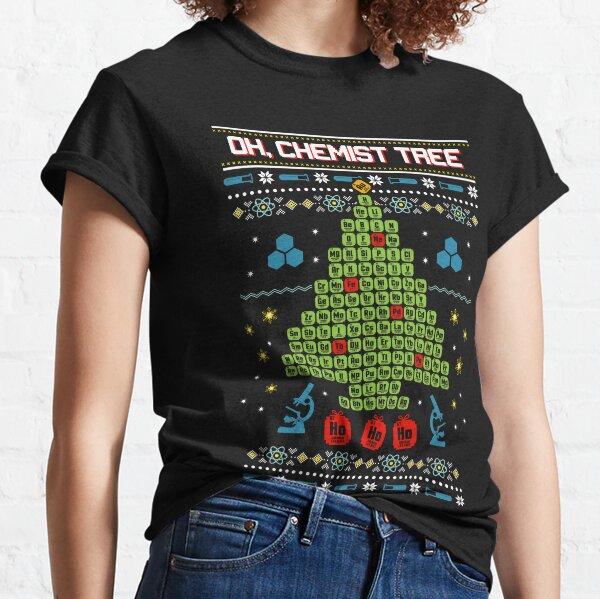 Oh Chemist Tree Ugly Christmas Sweatshirt Classic T-Shirt