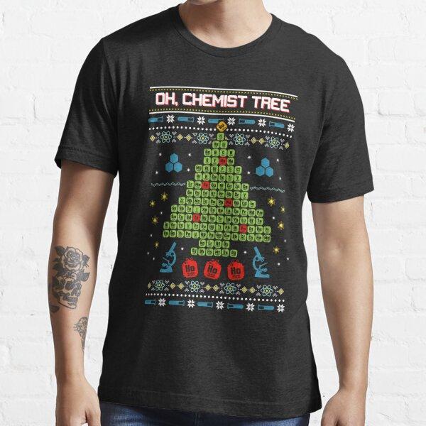 Oh Chemist Tree Ugly Christmas Sweatshirt Essential T-Shirt