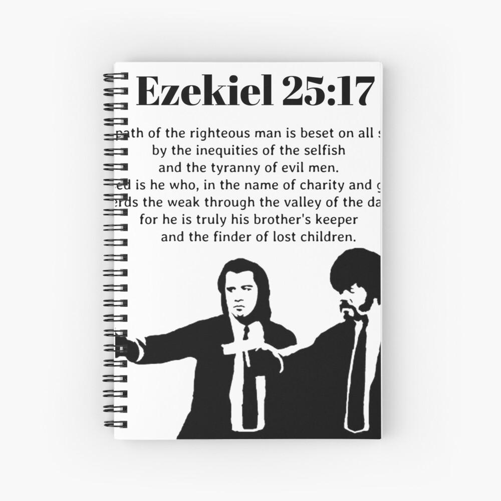 pulp fiction-sweat à capuche Ezekiel 25:17 le sentier des justes