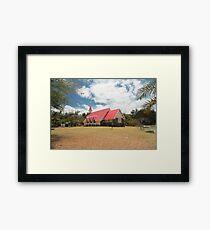 Cap Malheureux, Mauritius Framed Print