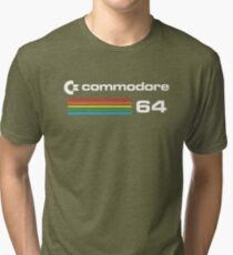 The Commodore 64 Tri-blend T-Shirt