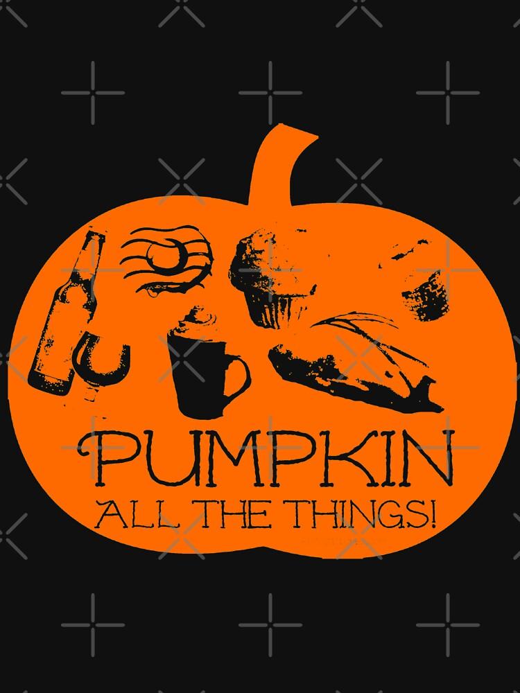 Autumn - Pumpkin all the things! Dark bg version Fall  by dubukat