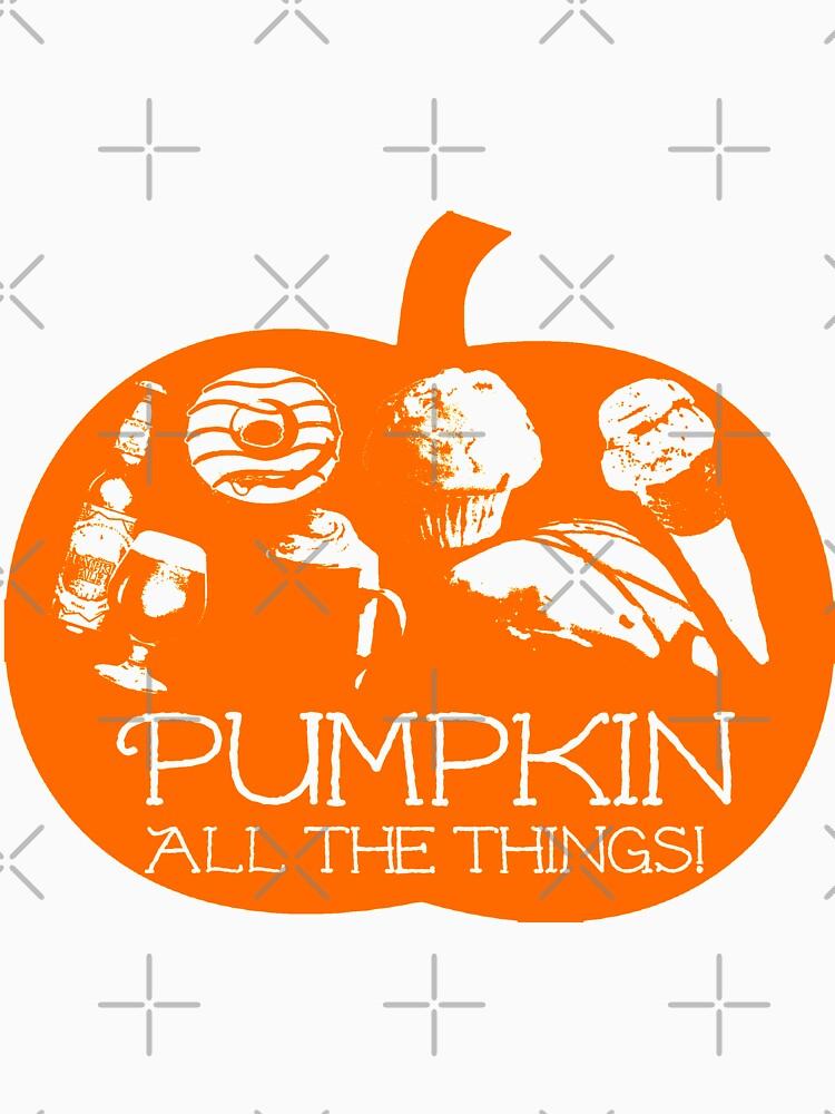 Autumn - Pumpkin all the things! Light bg version Fall by dubukat