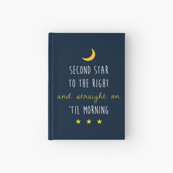 Peter Pan (Version One) Hardcover Journal