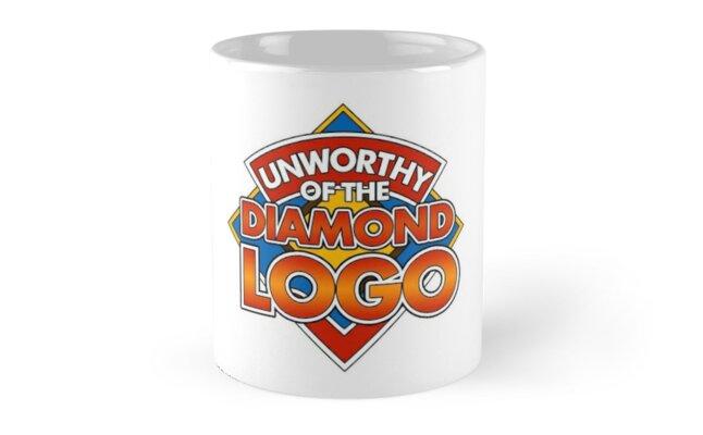 Unworthy of the Diamond Logo (Doctor Who) by tvcream