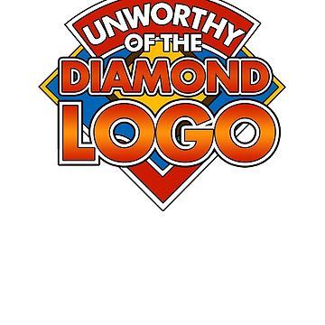 Unworthy of the Diamond Logo (Doctor Who) by tvcream