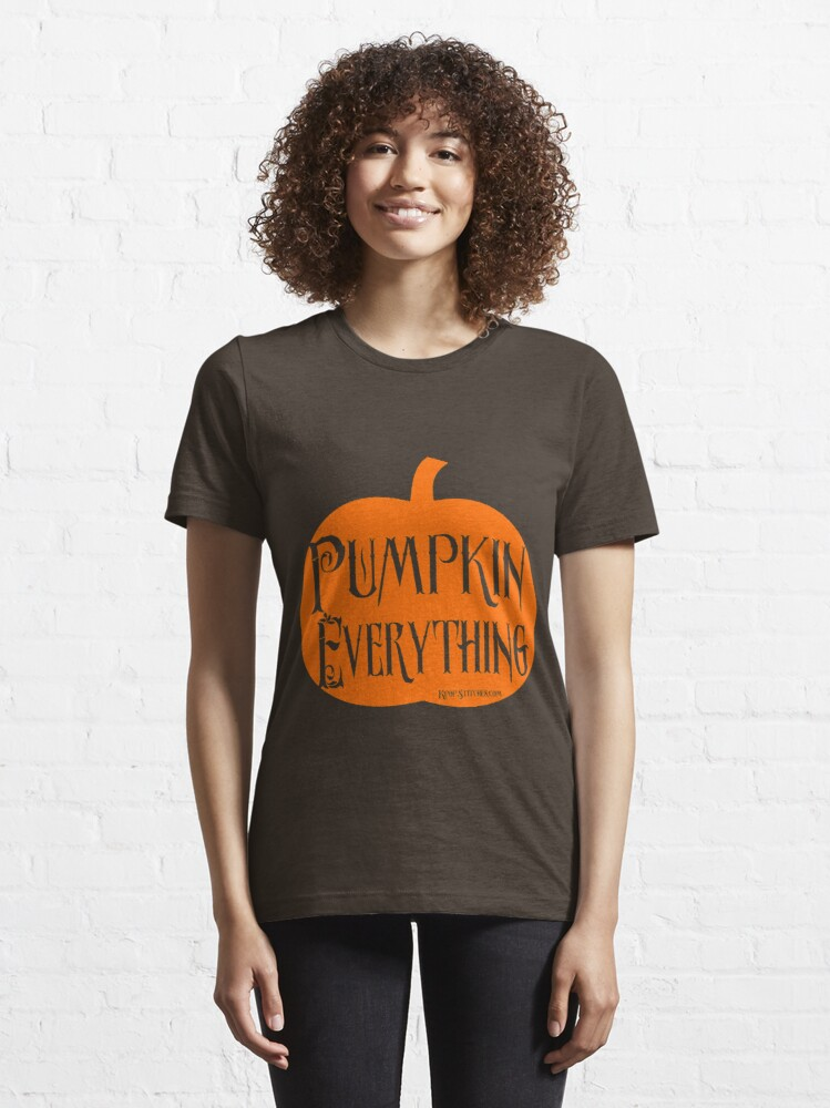 Alternate view of Autumn - Pumpkin everything style 2 fall Essential T-Shirt