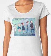 Stranger Things Eleven's Evolution - 11  Women's Premium T-Shirt
